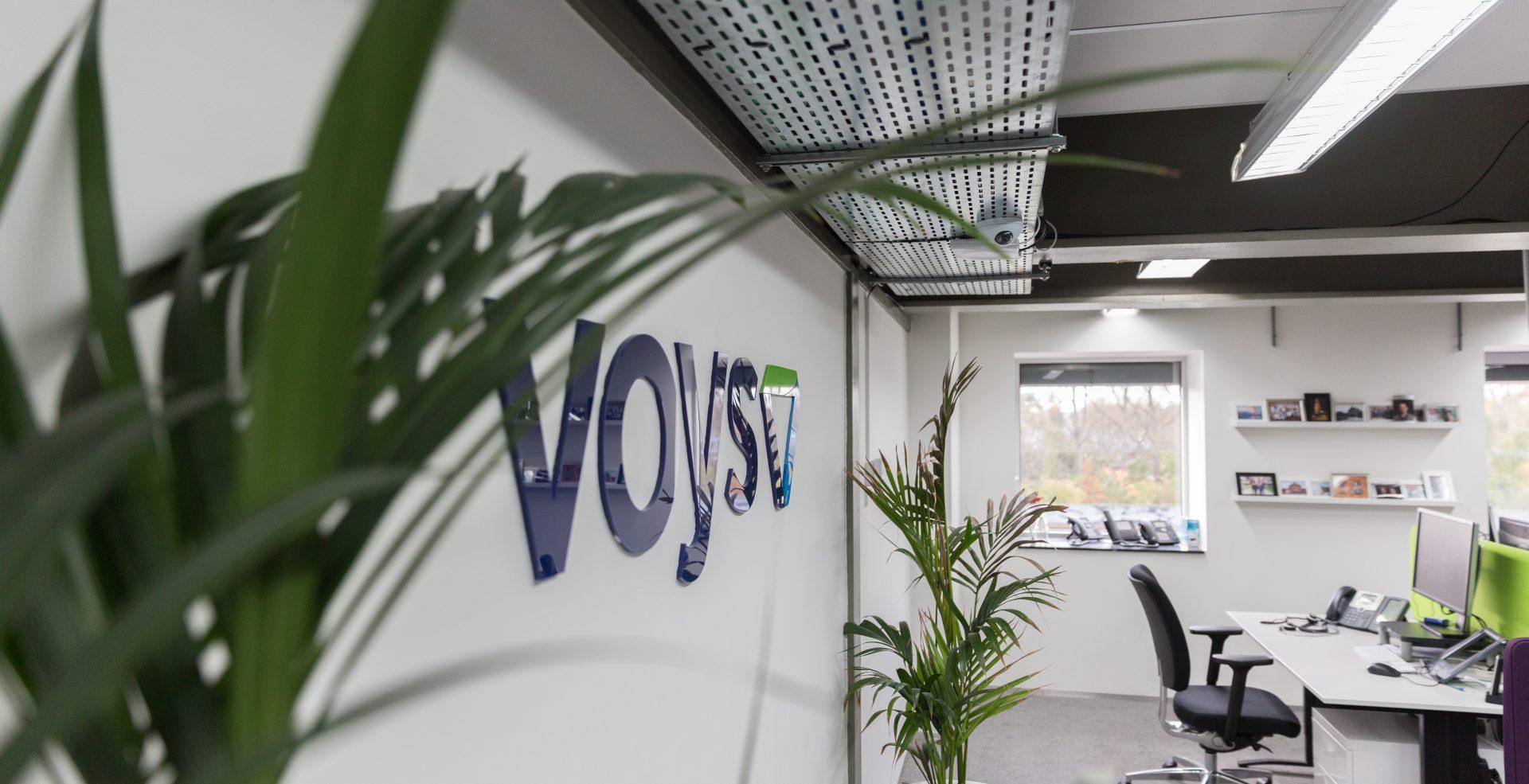 Het hippe kantoor van Voys  in de Mediacentrale.
